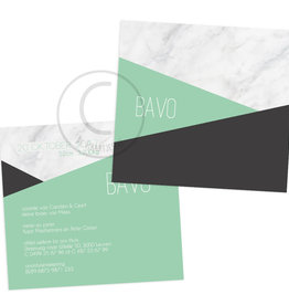 Geboortekaartje Bavo