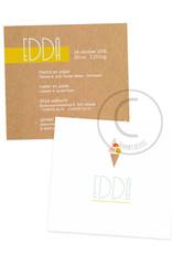 Geboortekaartje Edda