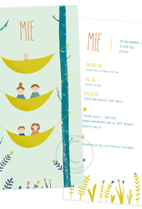 Geboortekaartje Mie