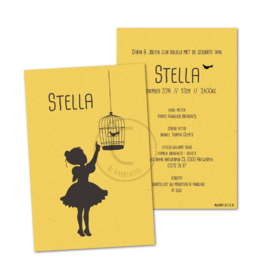 Geboortekaartje Stella