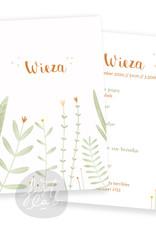 Geboortekaartje Wieza
