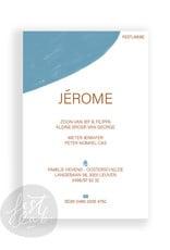 Geboortekaartje Jérome