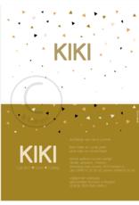 Geboortekaartje Kiki