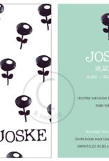 Geboortekaartje Joske