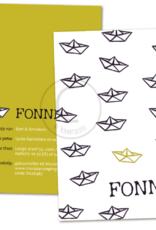 Geboortekaartje Fonne