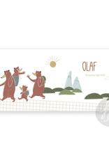 Geboortekaartje Olaf