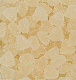 Suikerhartjes wit