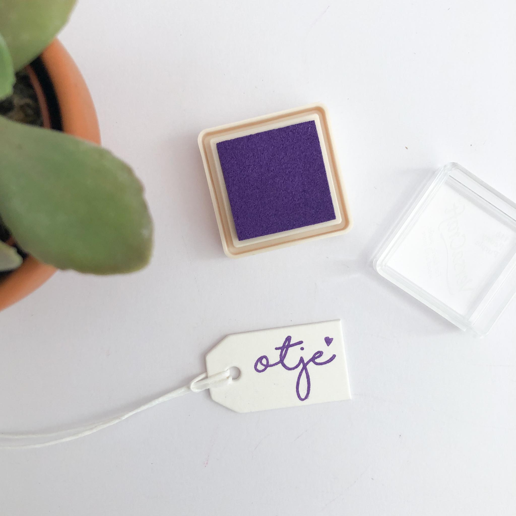 Inktpad paars - 116