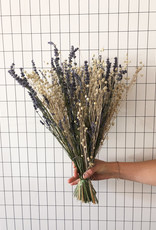 Boeket lavendel linum