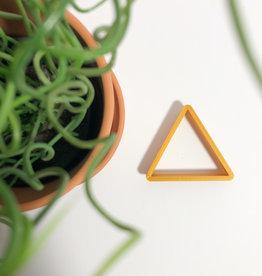Koekuitsteker driehoek 7cm