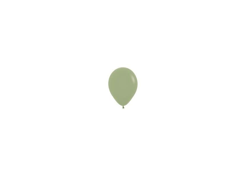 Ballon zijdegroen klein