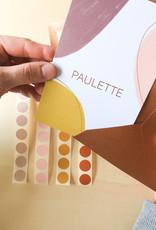 Geboortekaartje Paulette