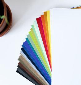 Gekleurde A4 vellen Azuurblauw 100-120gr