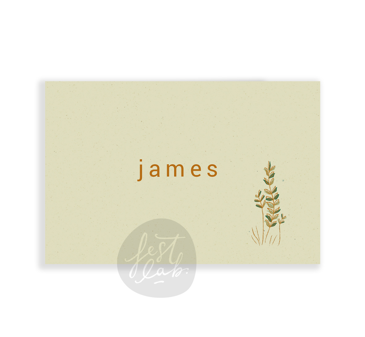 Geboortekaartje James