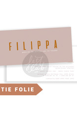 Geboortekaartje Filippa