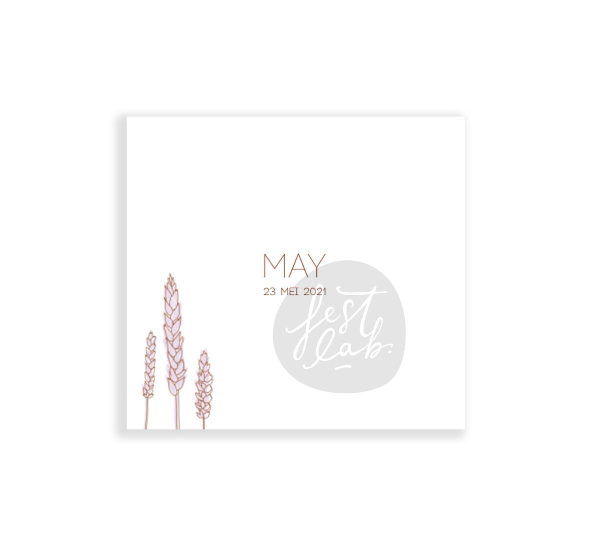 Geboortekaartje May