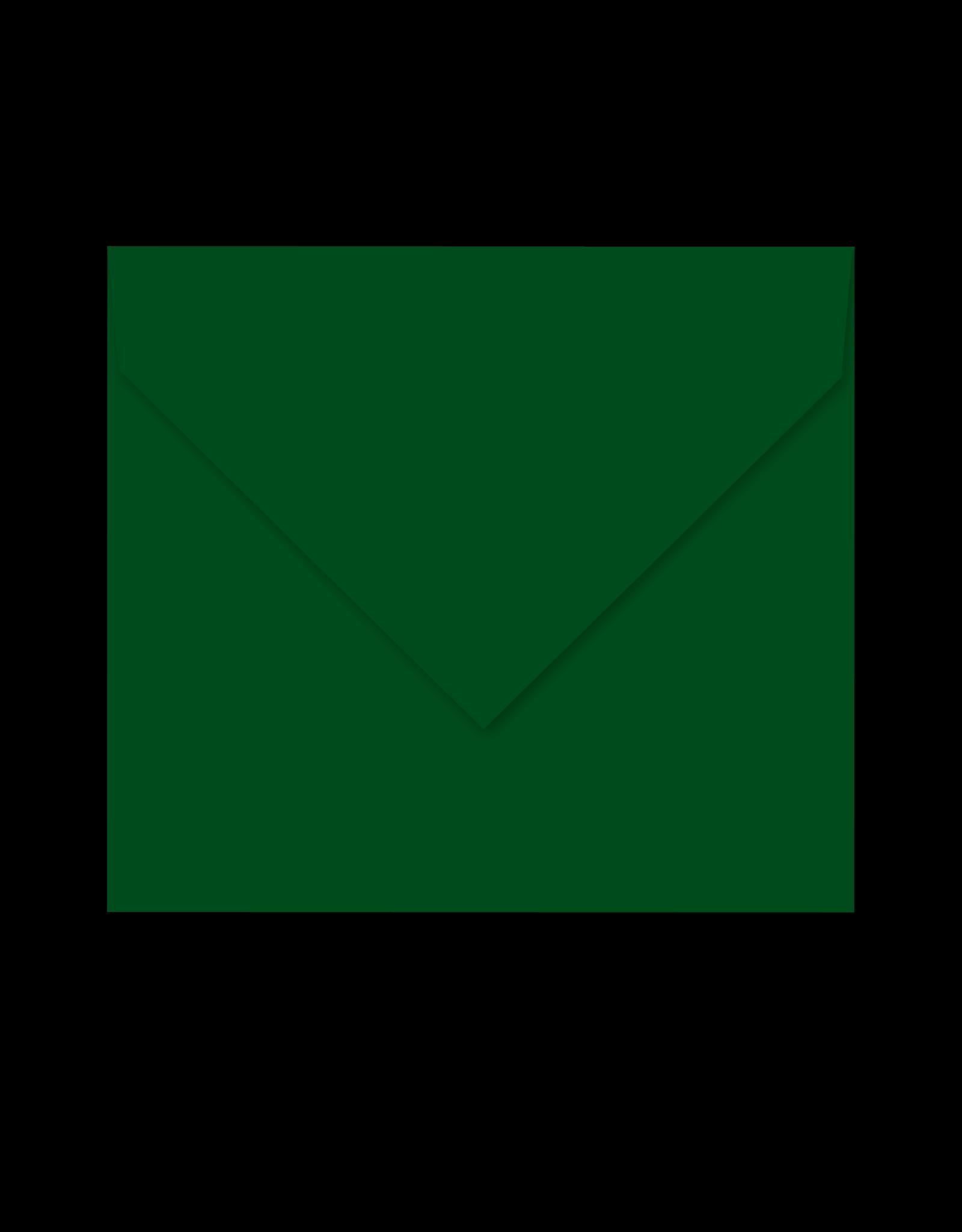 Enveloppe donkergroen - P07