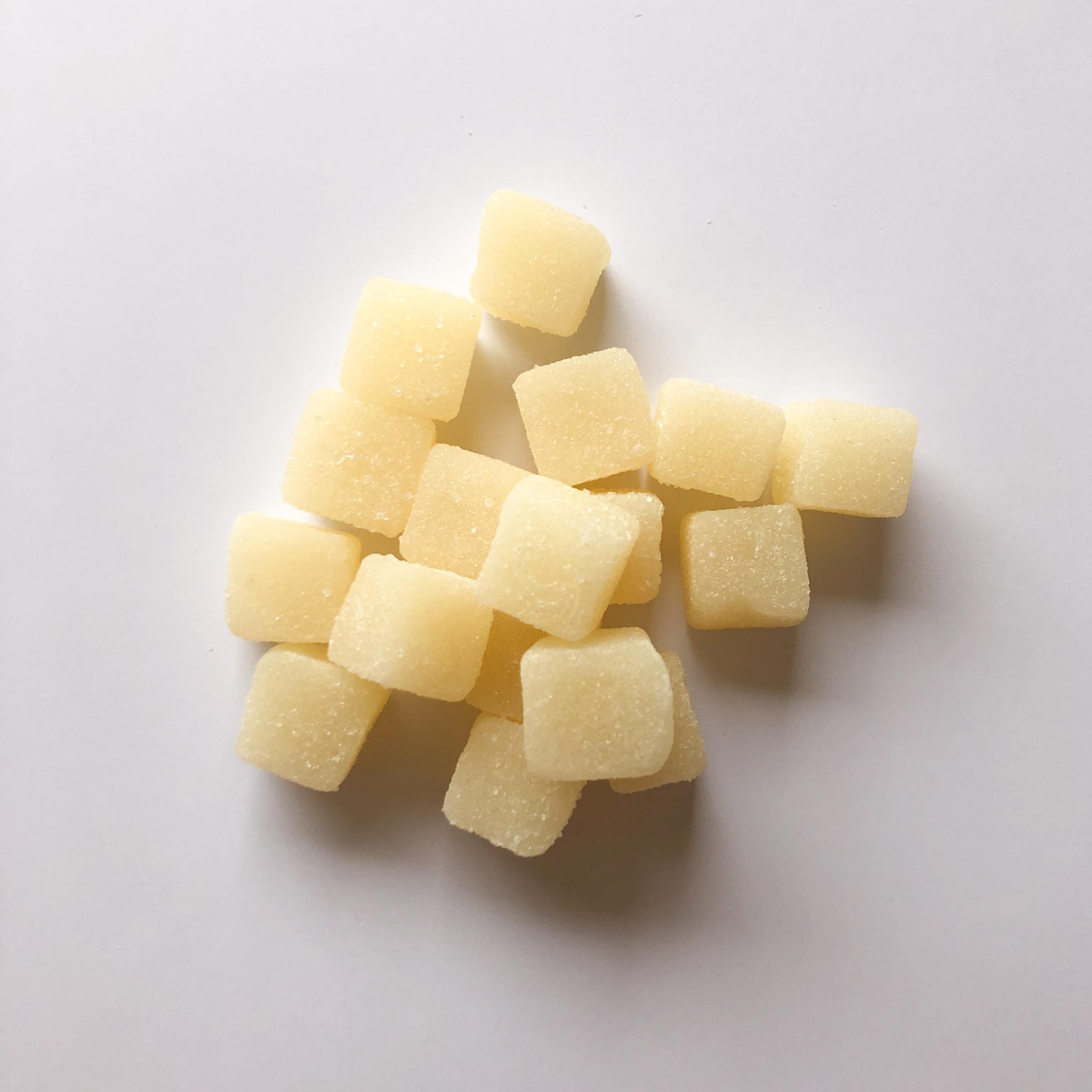 Snoepblokjes wit