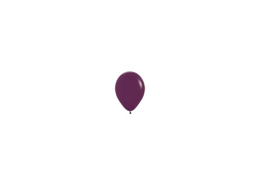 Ballon bordeaux klein