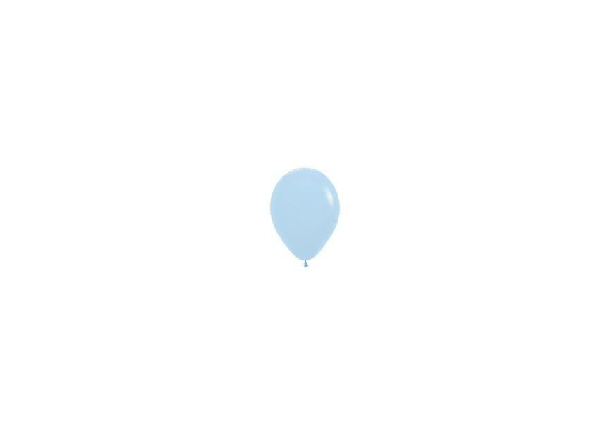 Ballon hemelsblauw klein