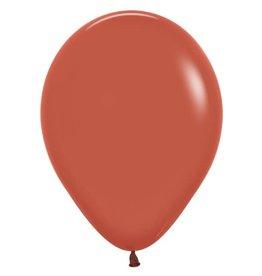 Ballon terracotta