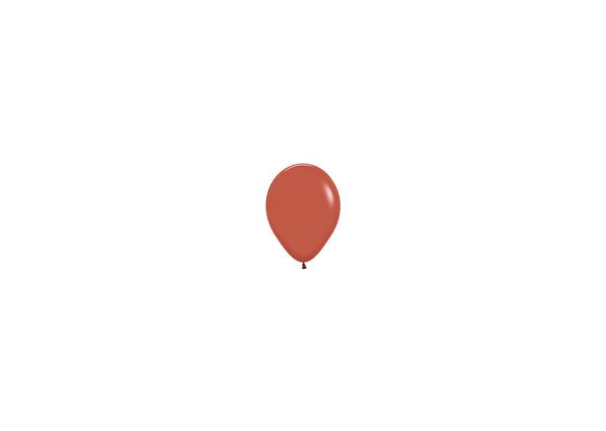 Ballon terracotta klein