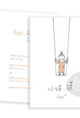 Geboortekaartje Aya