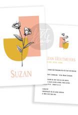 Geboortekaartje Suzan
