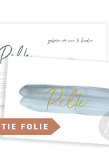 Geboortekaartje Pelle