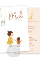 Geboortekaartje Mik