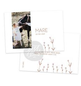 Communiekaart / uitnodiging Mare