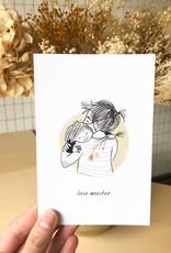 Knuffelkaartje meester