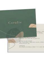 Geboortekaartje Coralie