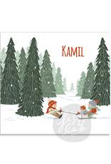 Geboortekaartje Kamil