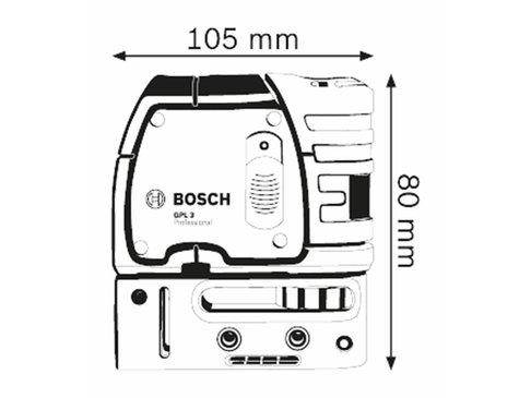 Bosch GPL 3 Puntlaser