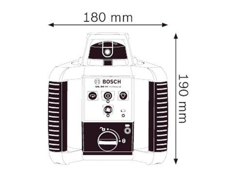 Bosch GRL 400 H Rotatielaser met koffer