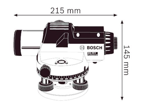 Bosch GOL 20 D Optische nivelleerder