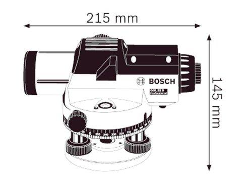 Bosch GOL 32 D Optische nivelleerde