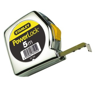Stanley 10m Powerlock Rolbandmaat