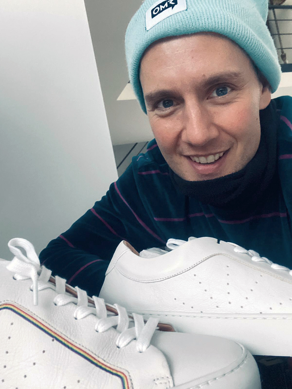 Oli P. mit Laced Sneaker #boi