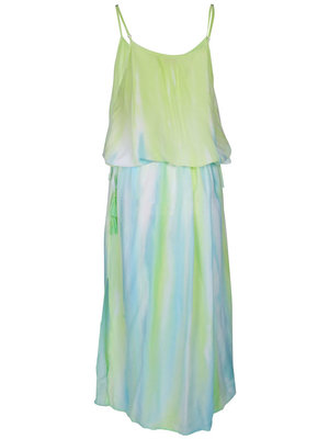 Hot Lava Maxi dress Nina Tie Dye Papagayo