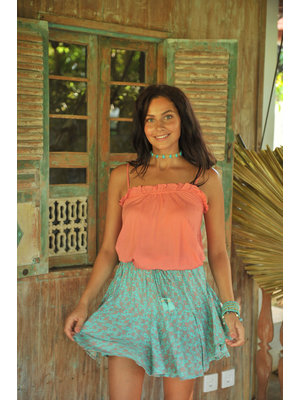 Hot Lava Skirt Fleur Poppy