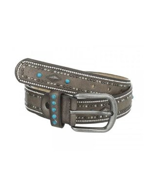 J.Y.M. Belt with studs and stones - Copy