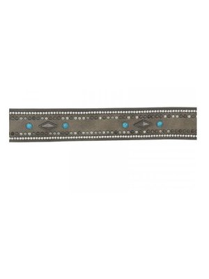 J.Y.M. Belt with studs and stones