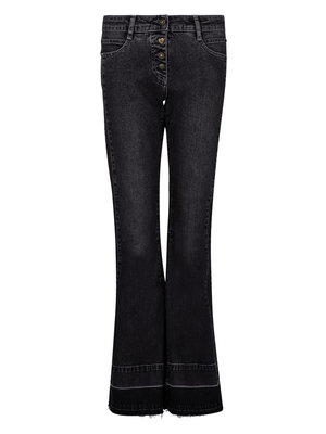 Isla Ibiza Bonita Flared Jeans Black