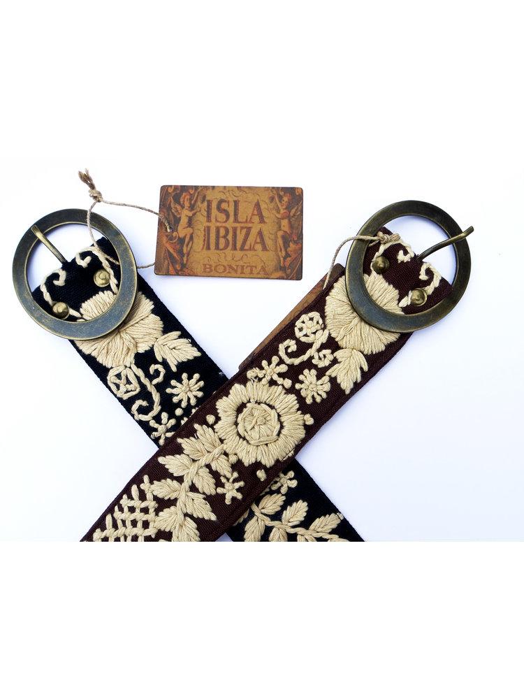 Isla Ibiza Bonita Belt embroidered