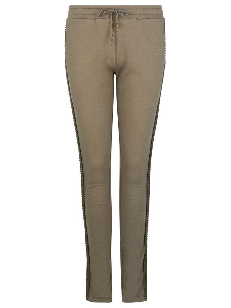 Isla Ibiza Bonita Uni Tight Trousers Olive – Green