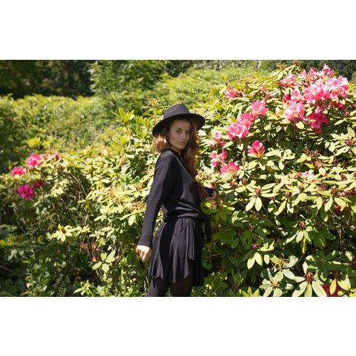 Hot Lava Skirt Fleur Black