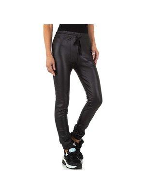 J.Y.M. Leather Look Legging