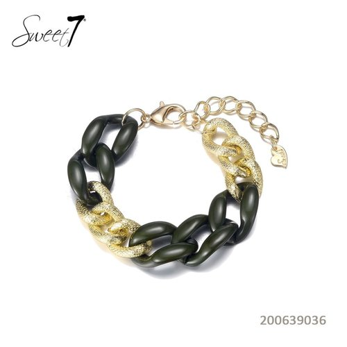 Sweet 7 Chain Bracelet Fey  Green